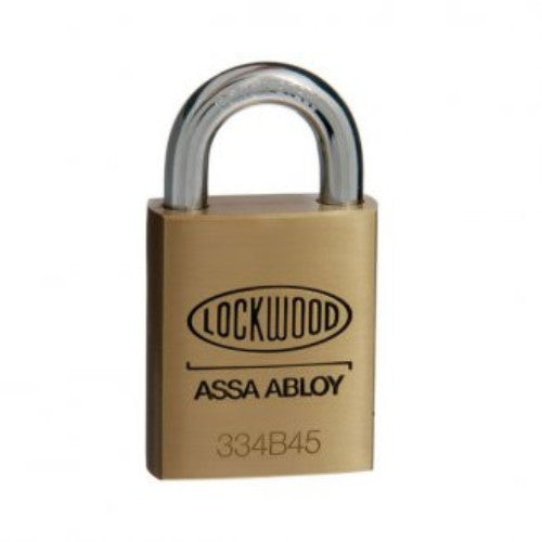 Lockwood 334B45/119 Brass Padlock
