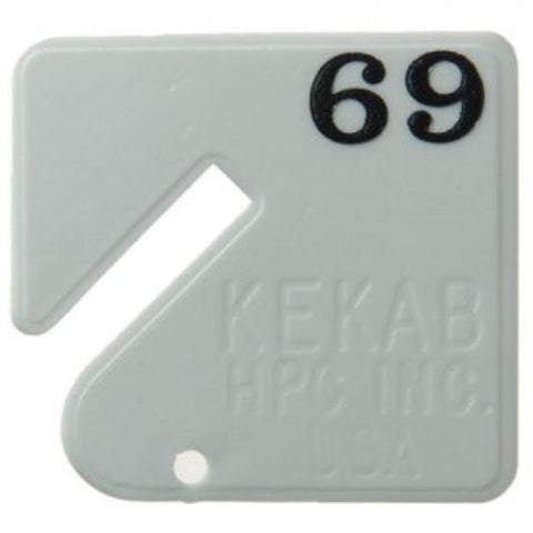 HPC Kekab Tags Spare - Pack of 20 [HNTxxx]