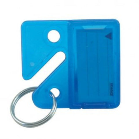 KEVRON UNIVERSAL BLUE KEY CABINET TAGS - Pack of 25 [KID45BLU]