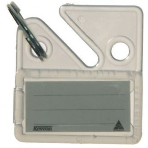 Kevron Universal Clear Key Cabinet Tags