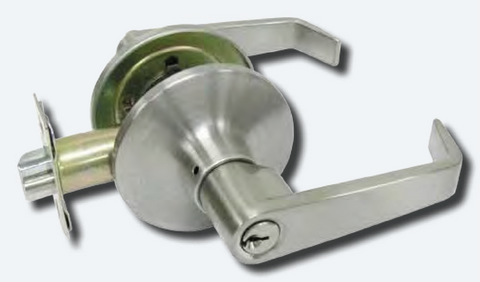 Kaba Entrance Lever Set - Satin Stainless Steel -  [RL53SSS]