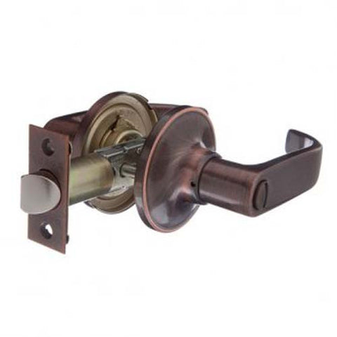 Brava Urban Privacy LN Lever Set - Antique Copper [LN901B]