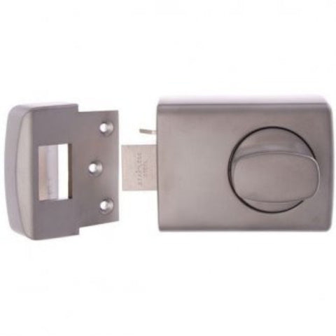 Lockwood 002 Deadlatch - Satin Chrome Pearl (Timber Door) [0021K1SC]