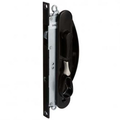 Combo Pack - Whitco Leichhardt Screen Door Lock - Black and Whitco Euro CYL W842500 5P KA [W865317_W842500]