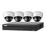 Dahua 4K 8 Channel NVR CCTV Kit Including 2TB HDD 4 x 4MP IR Dome Cameras