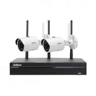Dahua 1080P WI-FI CCTV Kit 4 Channel NVR 2 x 3MP IR Bullet Cameras
