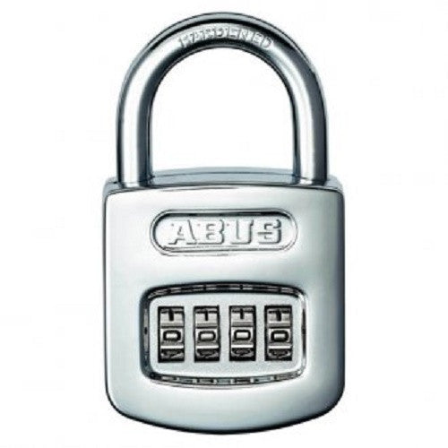 Abus 160/50 Chrome Combination Padlock