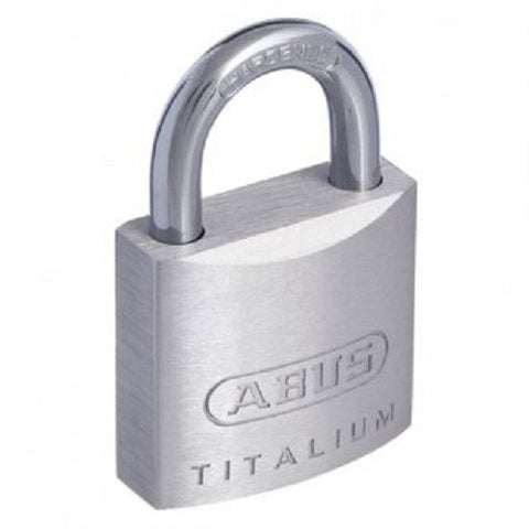 Abus 54TI/60 Titalium Padlock Pack Of Two - Keyed to Differ [54TI60Cx2]