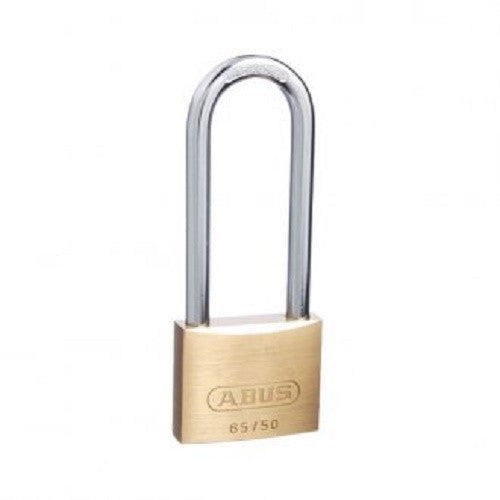 Abus 65/50 Extended Shackle Brass Padlock