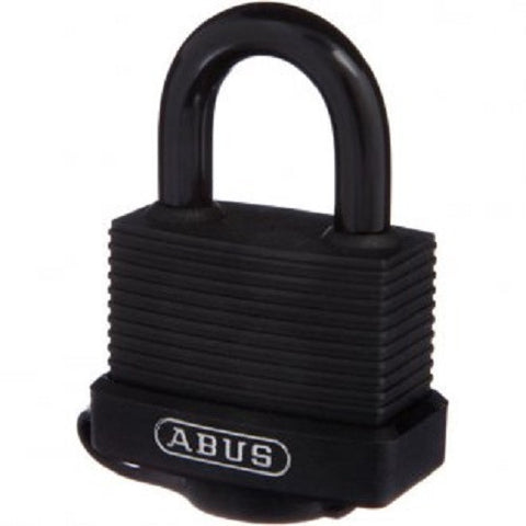 Abus 70/45 Black Weather Sealed Padlock - Keyed Alike [7045KA$9]