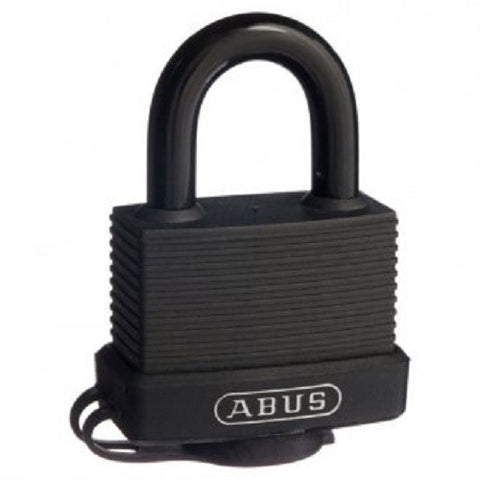 Abus 70/50 Black Weather Sealed Padlock - Keyed To Differ [7050C]