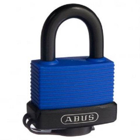 Abus 70IB/45 Blue Weather Sealed Padlock - Keyed To Differ [70IB45C]