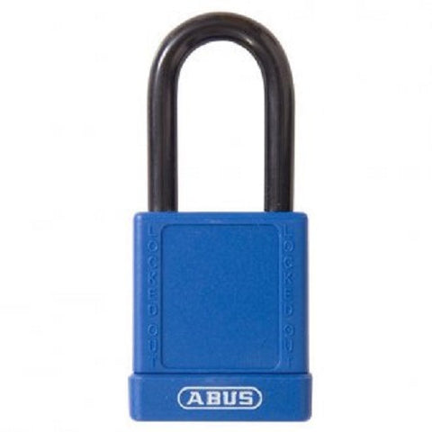 Abus 74/40 Pack of Two Blue Safety Padlock - Keyed to Differ [7440BLUKDx2]
