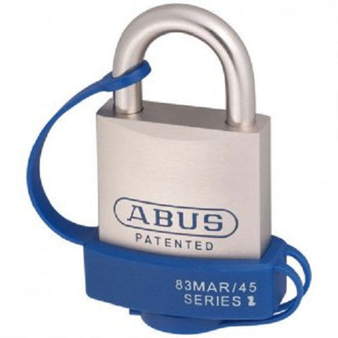Abus 83/45 Mariner Padlock With Cover - Keyed to Differ [83MAR45NWCC]