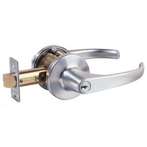 Lockwood 936 Classroom Lever Set - Satin Chrome (70mm Backset) [936SC]