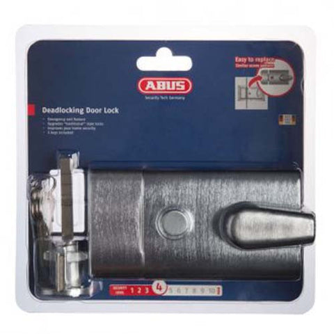 Abus Nightlatch - Satin Chrome [RL60SCC]