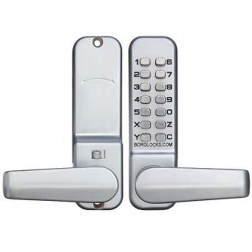 Borg Digital Lock 2301 Lever Handle