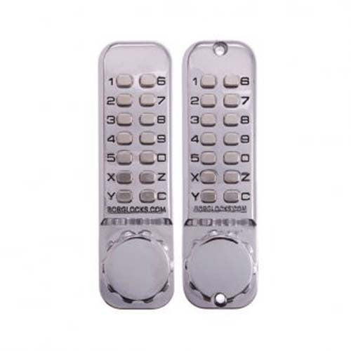 Borg Digital Lock 2620 Dual Keypad External Grade