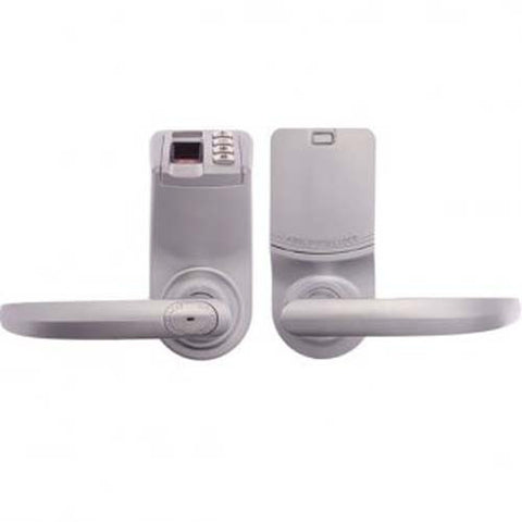 Borg Biometric Lever Door Lock BL9000-3 - Satin Chrome [BL90003SC]