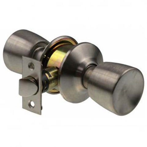Brava Urban Passage Knob Set, Cylindrical Fixing - Satin Stainless Steel [BRC6630B]
