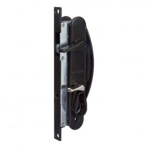 Whitco Leichhardt Screen Door Lock - Black Extended Lever [W866917]