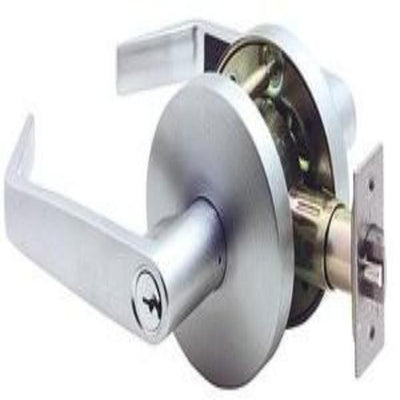 Carbine Doncaster Entrance Lever Set - Satin Chrome (70mm Backset) [PD7000]