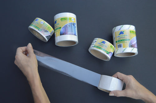 SafeHandle Ster-Roll Clear Tape - 100mm Width (per metre)