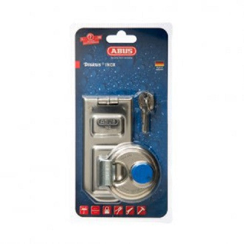 Abus Hasp & Staple & Padlock 140/120 Plus 24IB60 Carded