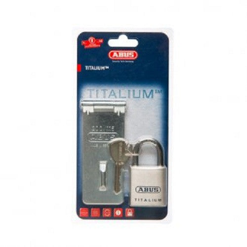 Abus Hasp & Staple & Padlock 200/115 Plus 80TI40 Carded