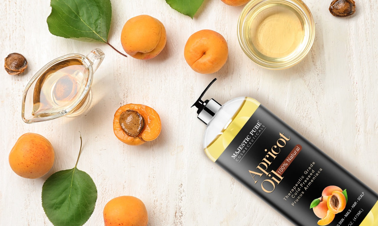 Majestic Pure Apricot carrier oil - where to buy