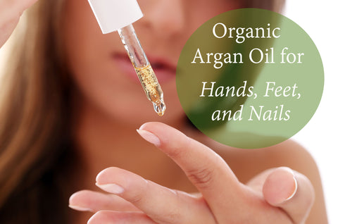 argan oil for hair, nails, feet - majestic pure
