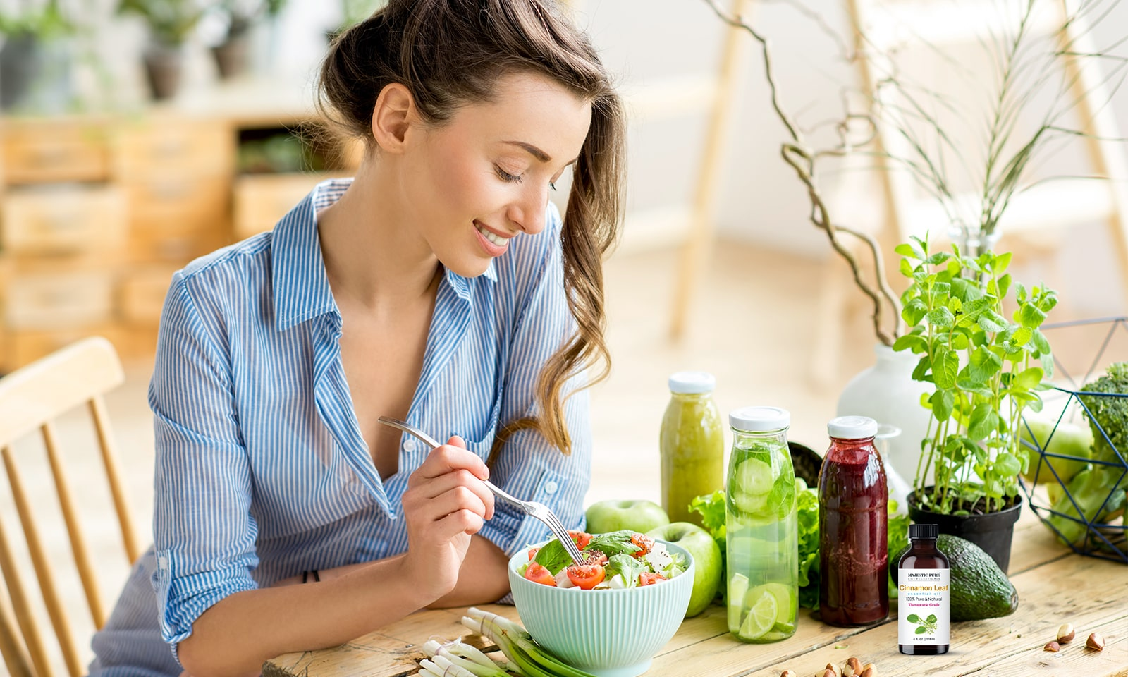 tips-to-switch-to-natural-deodorant-girl-eating-salad-healthy-diet