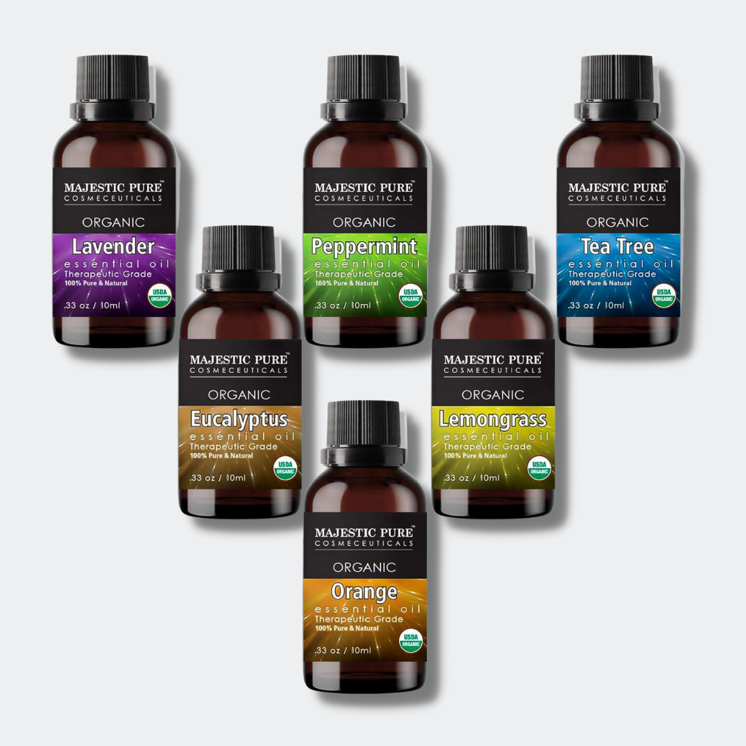 Certified Organic Essential Oils Set of 6