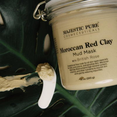 Moroccan Red Clay Mud Mask