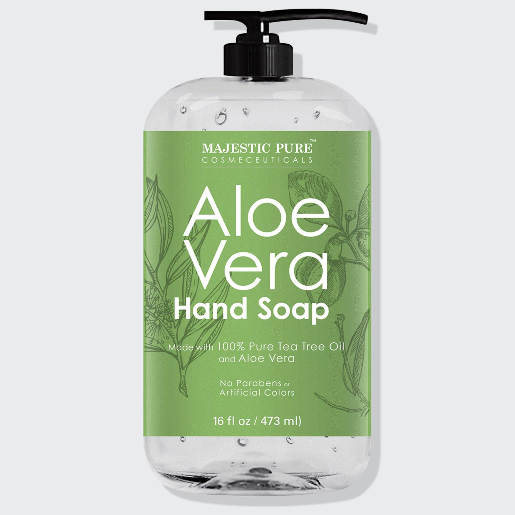 Aloe Vera Liquid Hand Soap (16 oz)