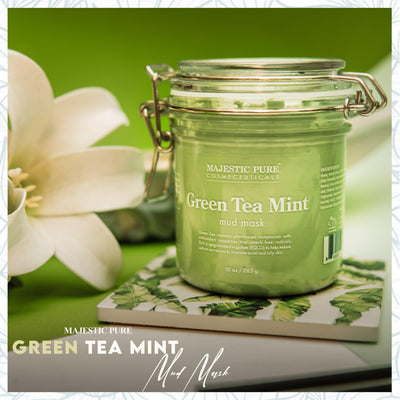Green Tea Mint Mud Mask