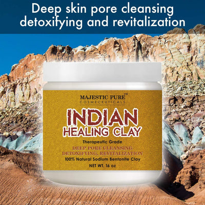 Bentonite Indian Healing Clay
