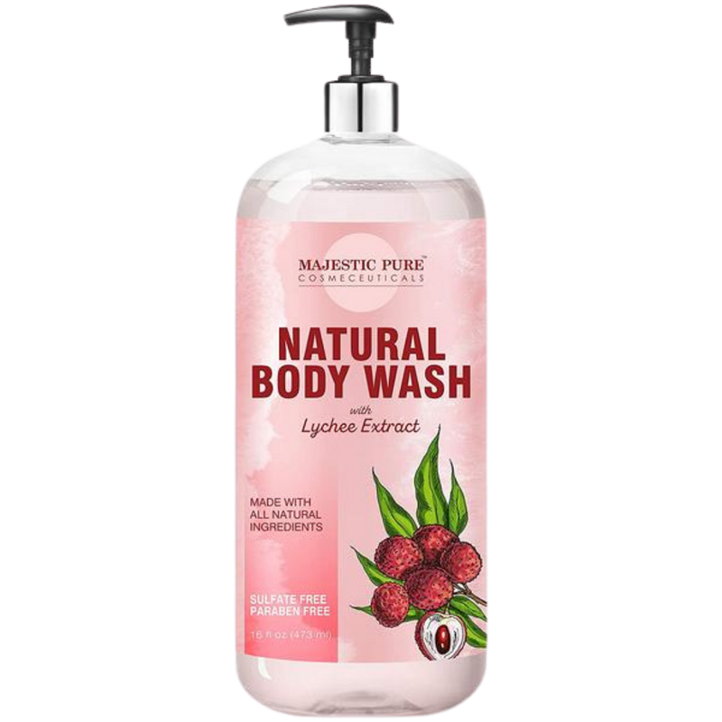Natural Body Wash w/ Lychee Extract