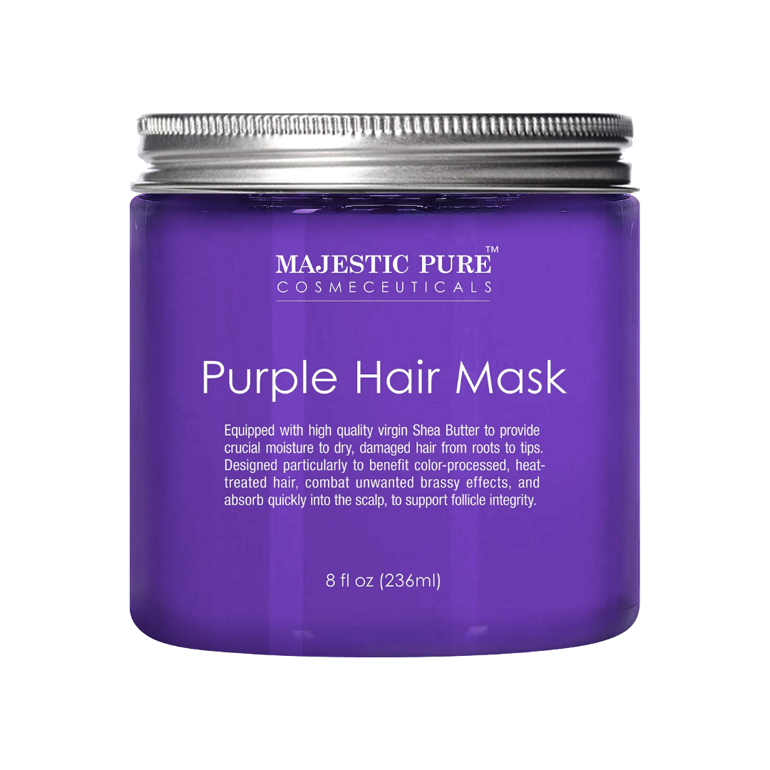 Purple Hair Mask