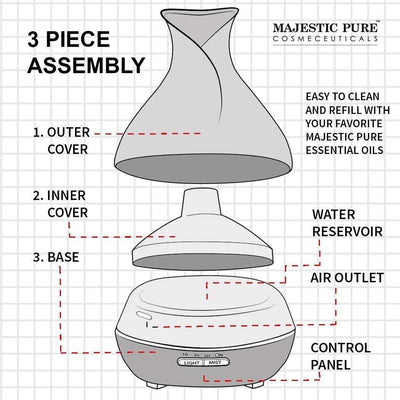 Essential Oil Ultrasonic Diffuser