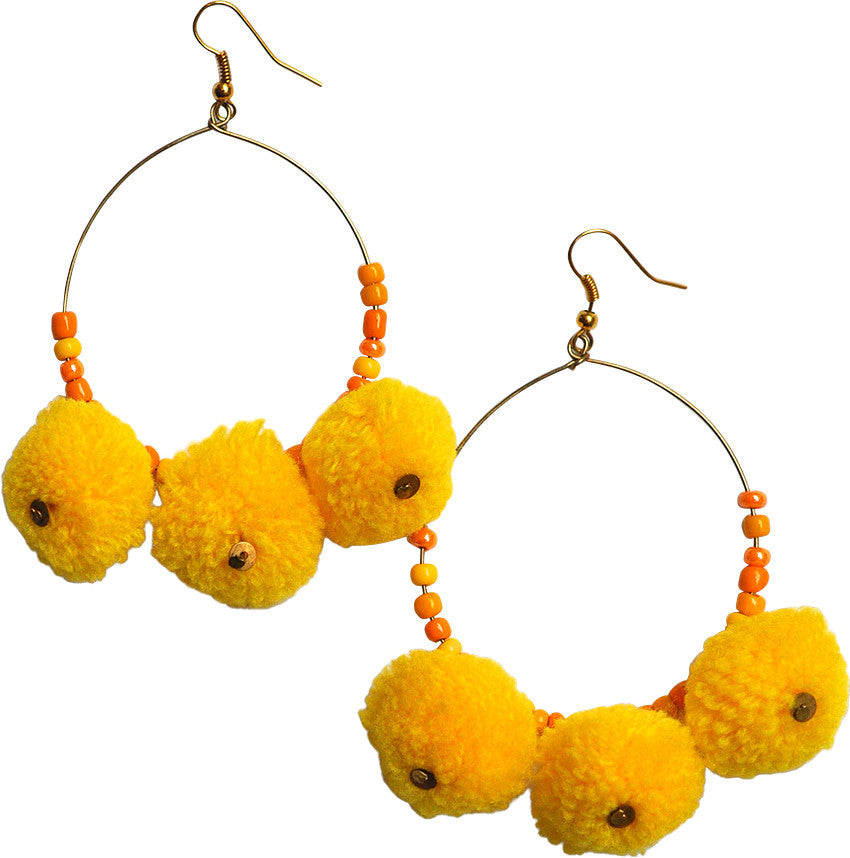 POMPOM earrings