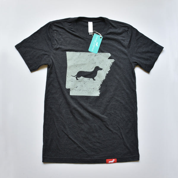 Doxie State Pride Series: Arkansas State Doxie Tee