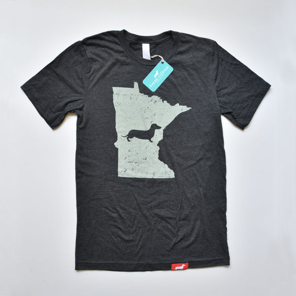 Doxie State Pride Series: Minnesota State Doxie Tee
