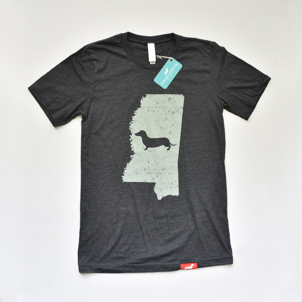 Doxie State Pride Series: Mississippi State Doxie Tee