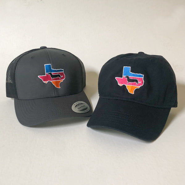Alamo City Texas Doxie Hats
