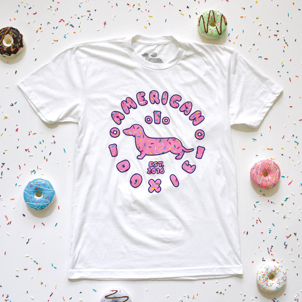 """NEW"" AD Donut Doxie Tee Shirt"