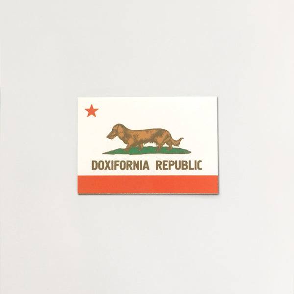 Doxifornia Republic Sticker