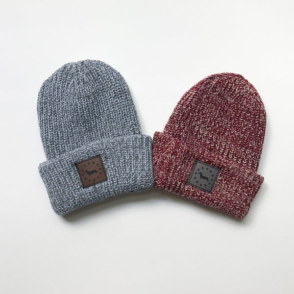 American Doxie Knit Beanie