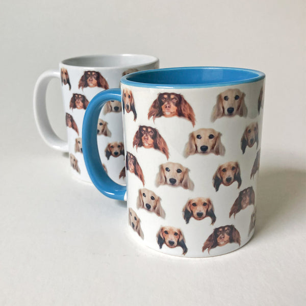 """NEW"" The 3 Weenies Talking Heads Mug"