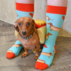 American Doxie X Sock Doggo Doxie Socks